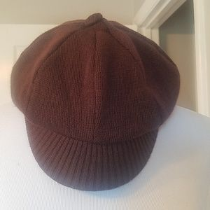 SOLD-Brown cap